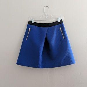 Ted Baker London Blue Mini Skirt